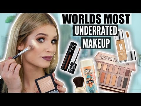 FULL FACE Using UNDERRATED MAKEUP! Products You NEED To Know About!