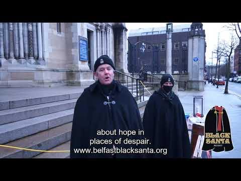 Belfast Black Santa - Daily Blog - Day 2 18/12/2020