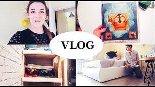 vlog организовываем балкон, розыгрыш АСТ, вкуснейшие равиолли, уборка в квартире - Senya Miro