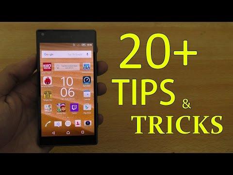 Sony Xperia Z5 Compact - 20+ Tips & Tricks! (4K)