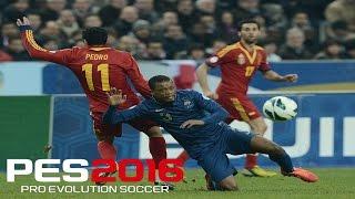 PES 2016 - UEFA EURO COPA 2016 - França x Espanha / Quartas de Final / Goleada Histórica