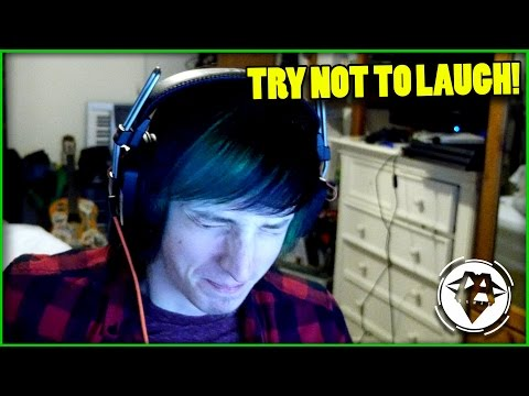 TRY NOT TO LAUGH CHALLENGE #1 | DAGames