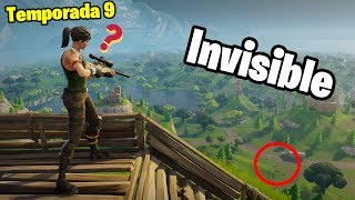 How to be invisible in Fortnite Glitch Season 9