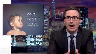 John Oliver Takes On Maternity Leave in the US | What's Trending Now