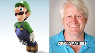 Characters and Voice Actors - Super Smash Bros. for Nintendo 3DS and Wii U (Updated)