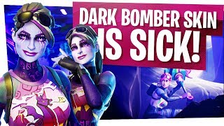 Le NOUVEAU DARK BOMBER SKIN est SICK! - Fortnite Dark Bomber Gameplay