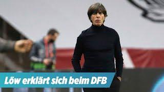 Job Gipfel beim DFB: Bundestrainer Jogi Löw erklärt sich persönlich