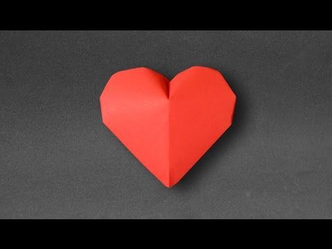 Origami: Inflatable Heart ( Jeremy Shafer )