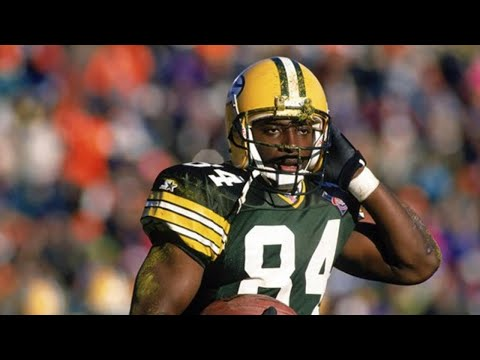 [OC] [Highlight] Today is former Packers WR Sterling Sharpe's 55th birthday. In his 7 seasons, Sharpe had 595 receptions, 8,134 yards, 65 touchdowns, and 5 Pro Bowl appearances. Here are the 21 longest TDs of his career, including his iconic game-winning TD in the 1993 playoffs against Detroit
