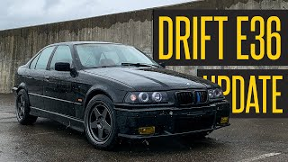 BMW E36 Drift Build - Huge News!