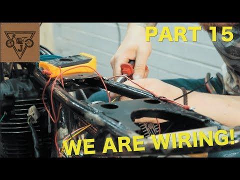 [FPER_4992]  Honda CB125 Cafe Racer Build - Part 15 - WE ARE WIRING! - YouTube | Honda Cb 125 T Wiring Diagram |  | YouTube