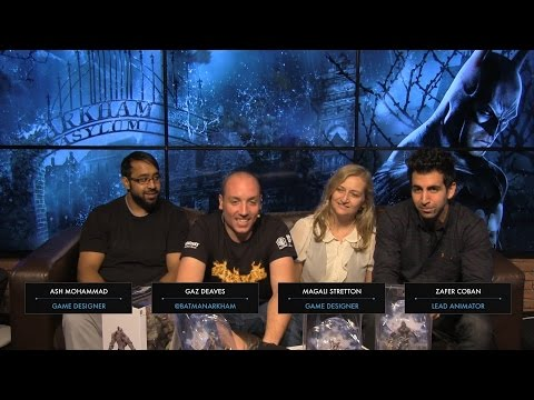 Rocksteady Studios - Batman: Arkham Asylum Playthrough and Arkham Knight Q&A