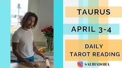 TAURUS Love is the answer Daily April 3-4 Tarot Reading