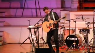 Andy Grammer Skyfull of Stars WXLO Acoustic Christmas 12.10.2014