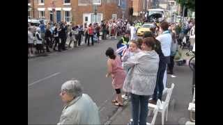 Your Life Your Style Cheers Olympic Torch in Winchester Thumbnail