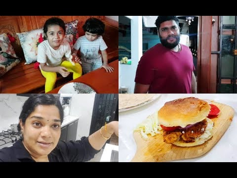 happy-independence-day---chicken-strips-burger---mayonnaise---garlic-sauce---yummy-tummy-vlog