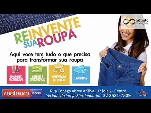 7eea2f19379d9 Restaura Jeans - Renovação de Couro - YouTube