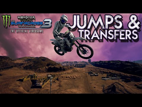 Supercross The Game 3 - Sick Compound Jumps & Transfers!