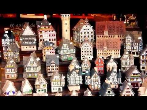 Nice Easter Market in Nuremberg of Europe