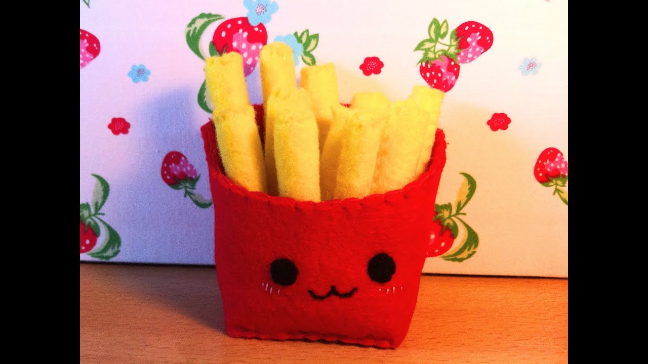 How To Make A Kawaii Fries Plushie Youtube