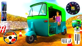 Mountain Auto Tuk Tuk Rickshaw   New Games 2021   Android gameplay #1 screenshot 5