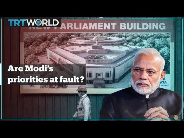 Modi criticised for prioritising renovations while Covid-19 crisis worsens
