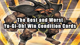 Video The Best and Worst Yu-Gi-Oh! Win Condition Cards download MP3, 3GP, MP4, WEBM, AVI, FLV Juli 2018