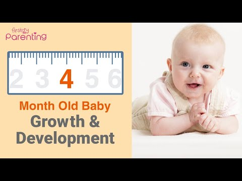 Your 4 Month Old Baby's Growth & Development (Plus Activities & Care Tips)