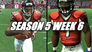 THE TOUCHDOWN MAKER - MADDEN 07 FALCONS FRANCHISE VS BUCS - s5w6