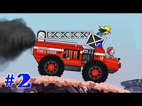 БЕЗУМНЫЕ ГОНКИ [1] Игровые мультики про машинки Гонки на машинах Игра (Hill Climb Racing 1 серия)