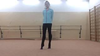 Передача : Шаги к Успеху ))) Мелкие прыжки ) ...Rhythmic Gymnastics Training