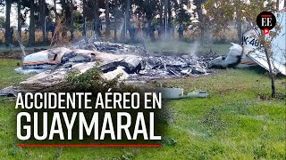 Accidente aéreo en Guaymaral deja cuatro víctimas mortales - El Espectador