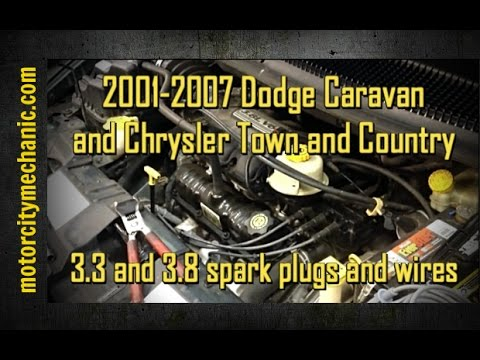 2001-2007 Dodge Caravan and Chrysler Town and Country 33 and 38