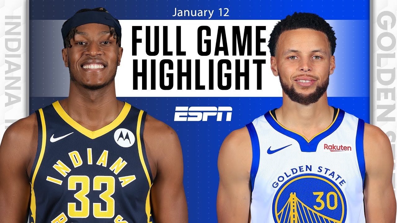 Pacers vs. Warriors - Game Recap - January 12, 2021 - ESPN