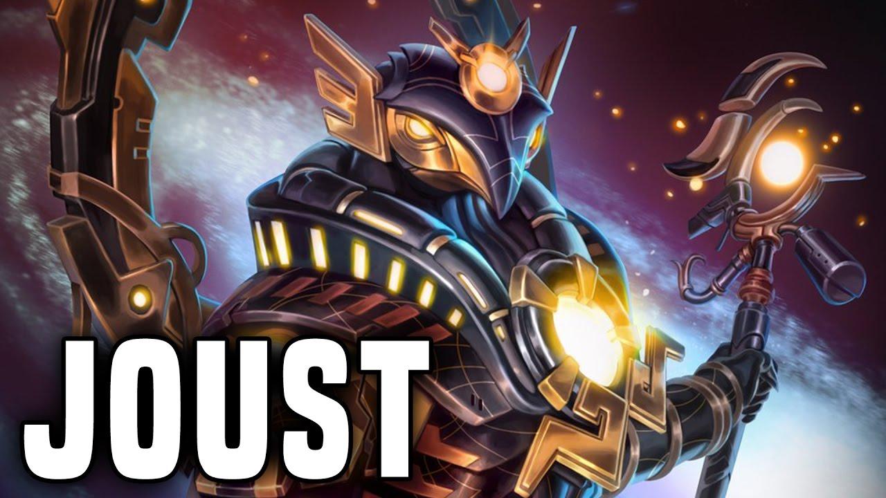 Sunstar Ra! Those Ultimate Snipes!   Smite Ra Joust Gameplay (Ra Build)