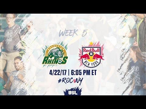 USL LIVE - Rochester Rhinos vs New York Red Bulls II 4/22/17