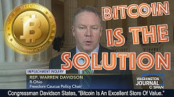 Congressmen Warren Davidson Reveals THE TRUTH ABOUT BITCOIN. This Altcoin To Go 5x and XRP 500+ Jobs
