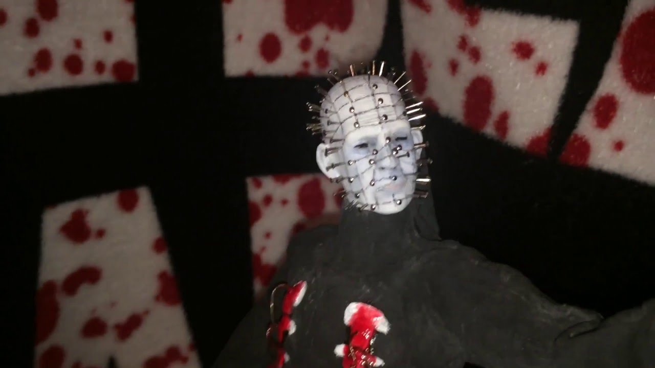 "hellraiser-"" pinhead"" custom 1/6 figure - youtube"