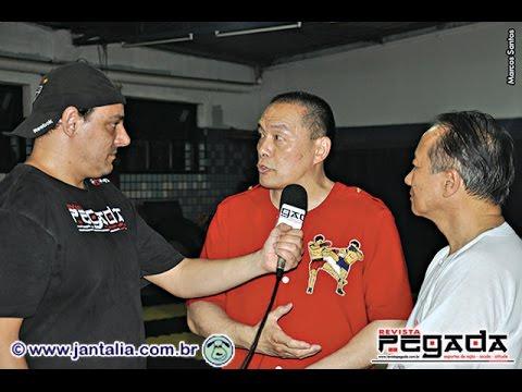 TV Pegada #0014 - Entrevista exclusiva com o Grão Mestre Carter Wong