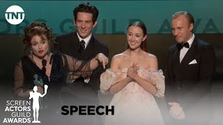 The Crown: Award Acceptance Speech | 26th Annual SAG Awards | TNT