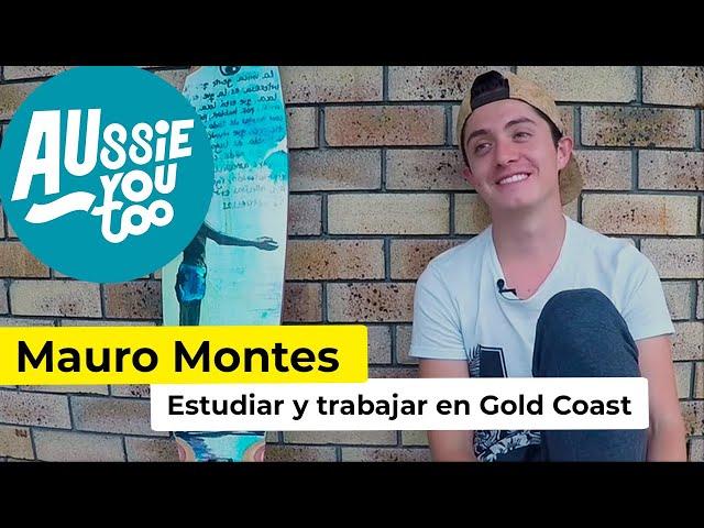 Un colombiano estudiando y trabajando en Australia - Mauro Montes