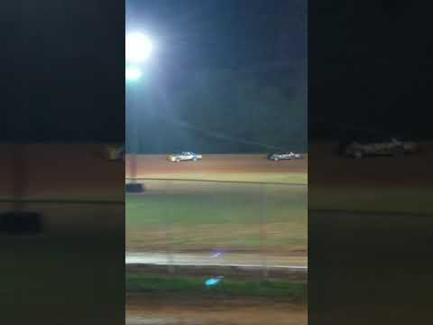 2018 north alabama speedway factory stock feature. 8-25-18 started pole and won