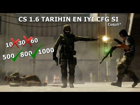 CS 1.6 MUHTEŞEM FPS CFG ÇÖP PCLERDE BİLE +999 FPS