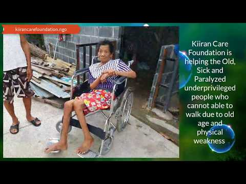 Wheel Chair For Underprivileged People By Kiiran Care Foundation