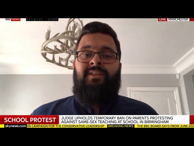 Court responds to Banning Muslim's School Protest on LGBT | SKY NEWS INTERVIEW
