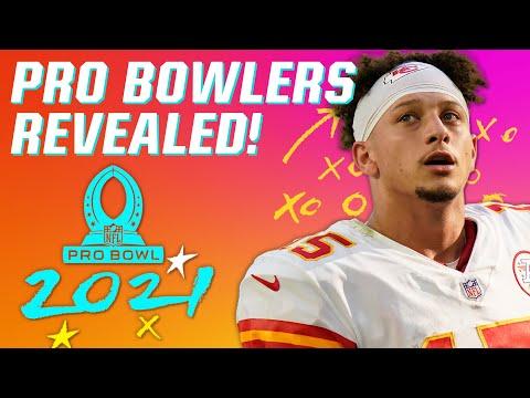 NFL 2021 Pro Bowlers Revealed!