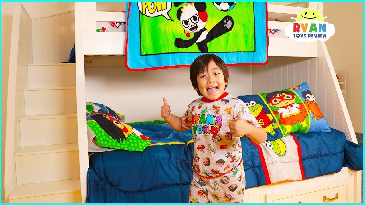 Ryan S New Bedroom Room Tour Youtube