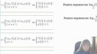 Фрагмент занятия по алгебре для учащихся 10-11 и 11 класса