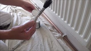 Painting copper pipes