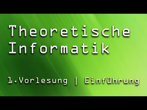 1. Vorlesung Theoretische Informatik TI | Einführung